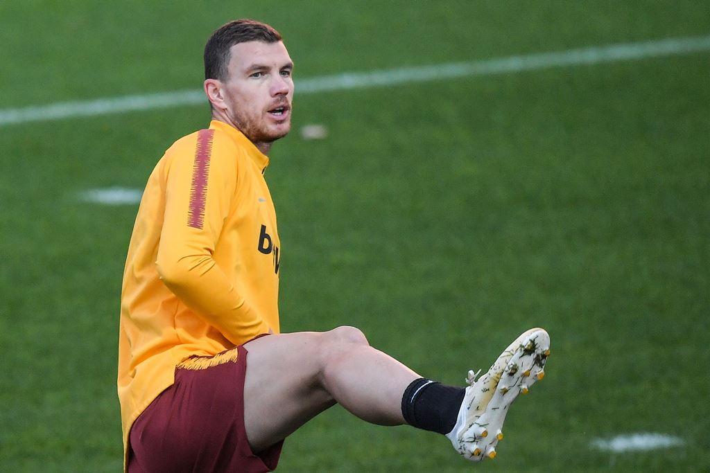 Roma Belum Tentu Turunkan Dzeko untuk Hadapi Madrid