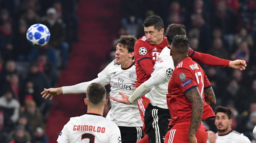 Permak Benfica, Bayern Nyaman di Puncak Klasemen