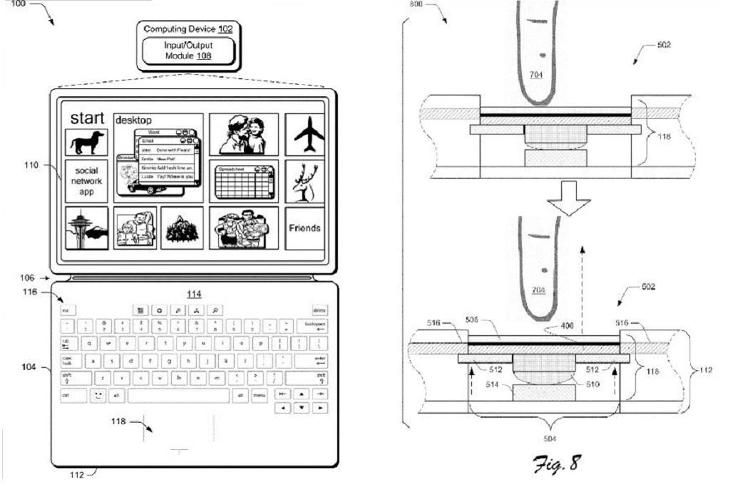 Ada Paten Microsoft untuk Aksesori Surface Pro