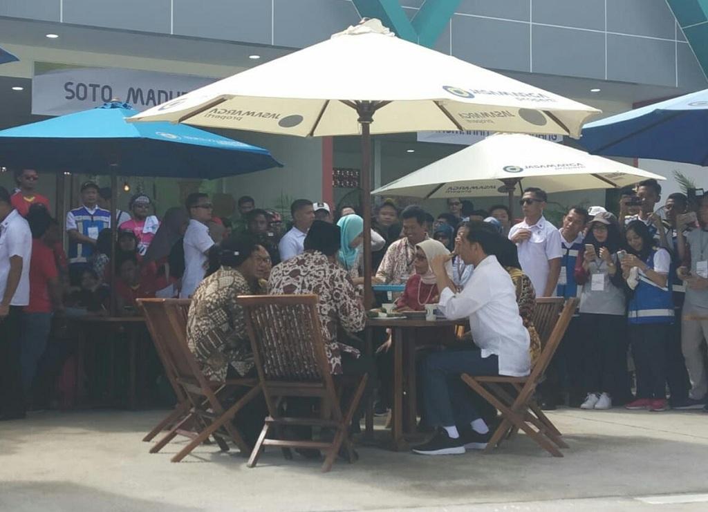 Jokowi: Rest Area Jangan Dipenuhi Brand Asing