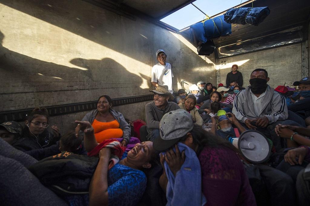 AS dan Meksiko akan Diskusikan Kafilah Imigran