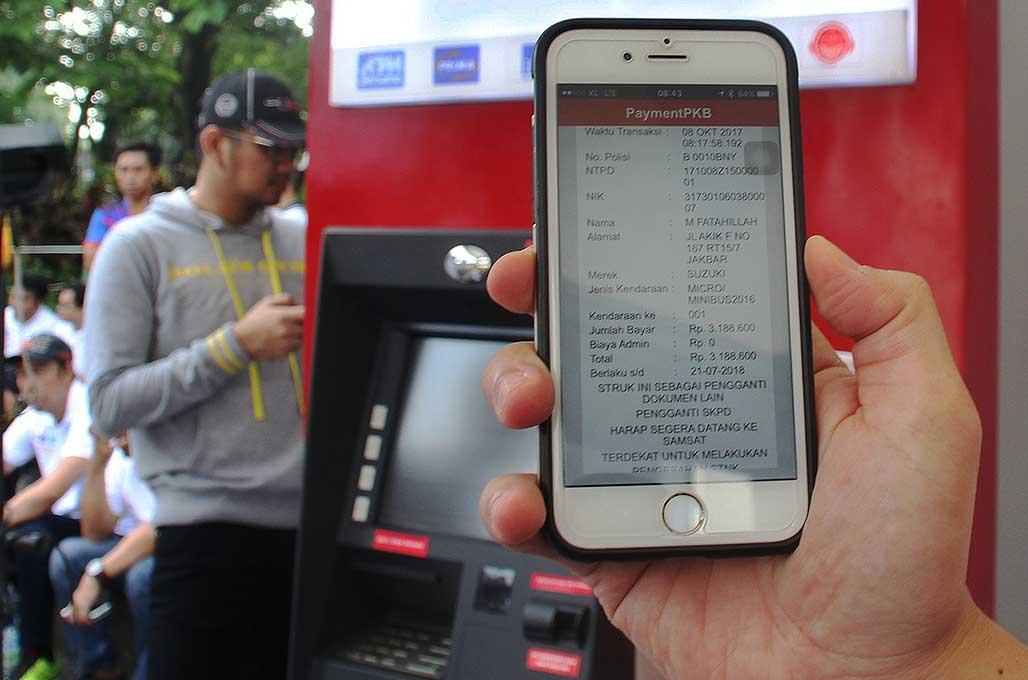 Cek Pajak Kendaraan, Kini Bisa Lewat SMS