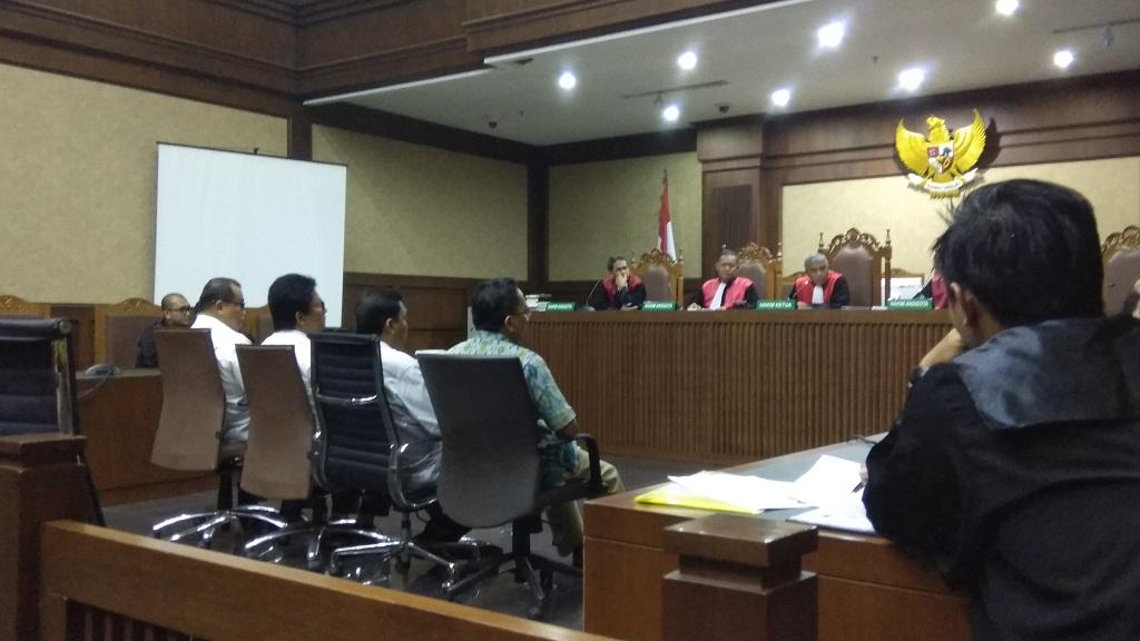 Empat Anggota DPRD Sumut Didakwa Terima Suap dari Gatot