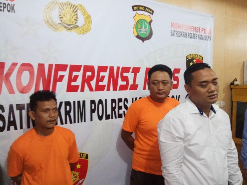 Dua Pelaku Eksploitasi Anak di Depok Ditangkap