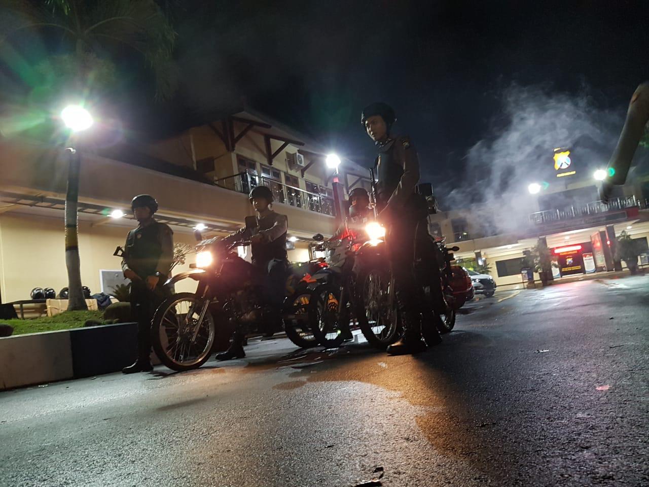 Polres Lumajang Giatkan Patroli Malam
