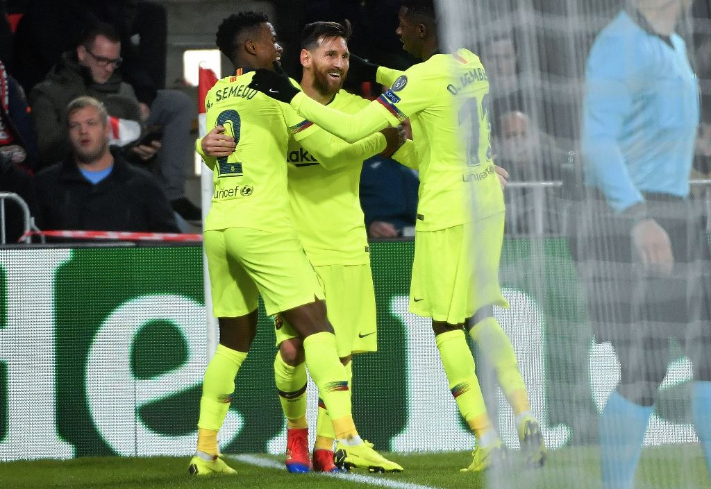 Barcelona Lolos ke 16 Besar dengan Status Juara Grup