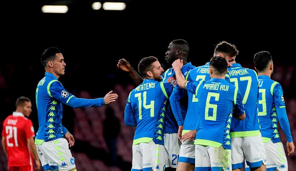 Kemenangan atas Zvezda Belum Membuat Napoli Lolos ke 16 Besar