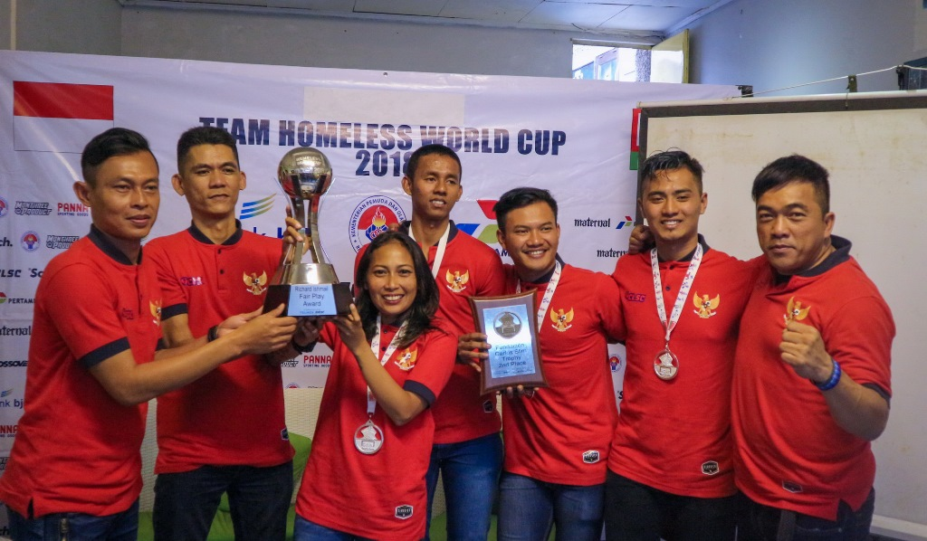 <i>Fair Play Award</i>, Pencapaian Tertinggi Indonesia di Homeless World Cup