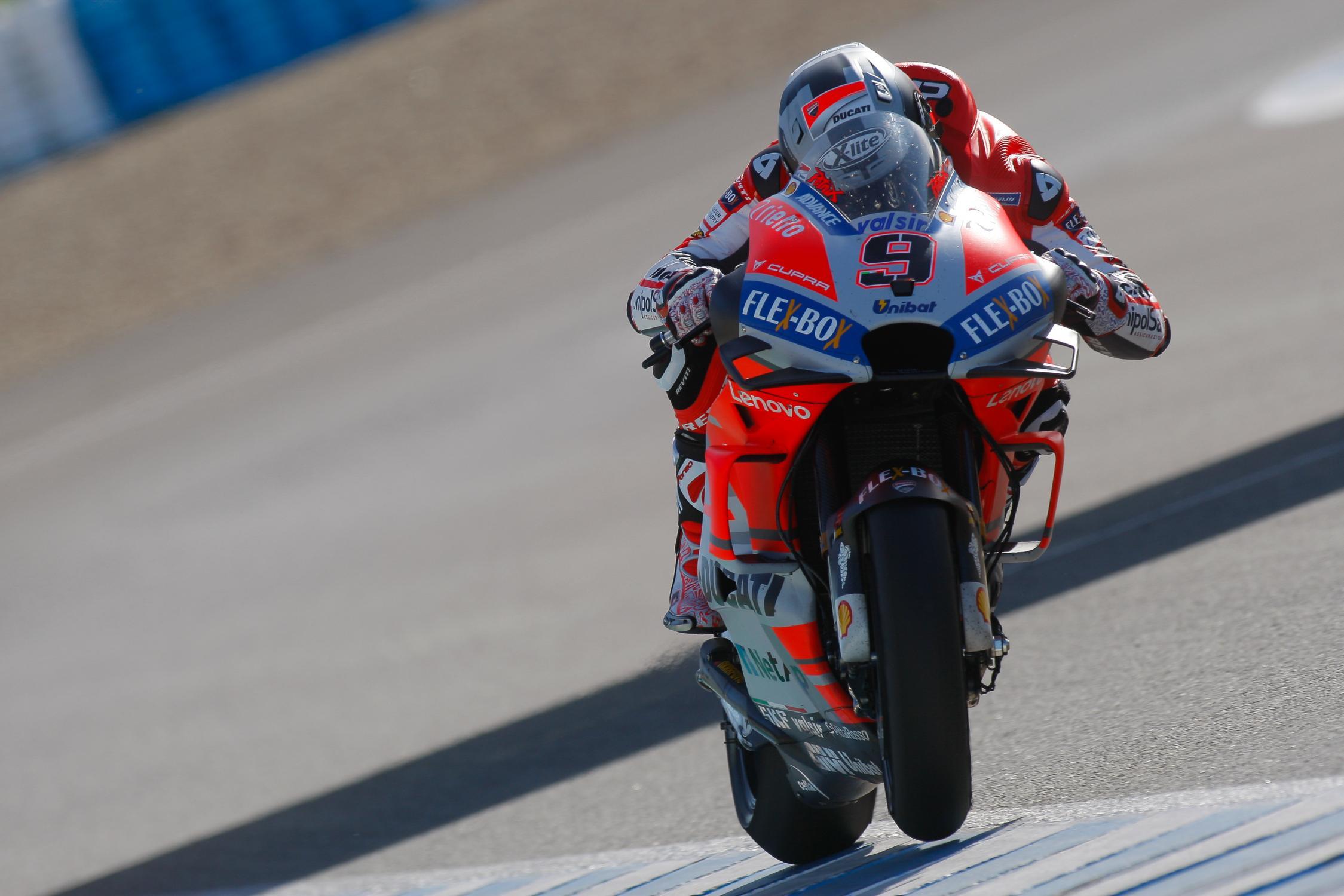 Duo Ducati Tercepat pada Tes Pramusim Jerez