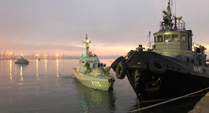 Putin Bela Penyitaan atas Kapal Ukraina
