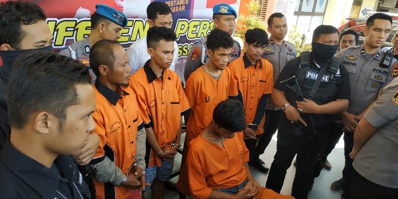 Begal Pemotong Tangan di Makassar Ditangkap