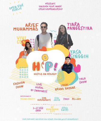 Hustle on Project Ajak Anak Muda Dukung Industri Kreatif