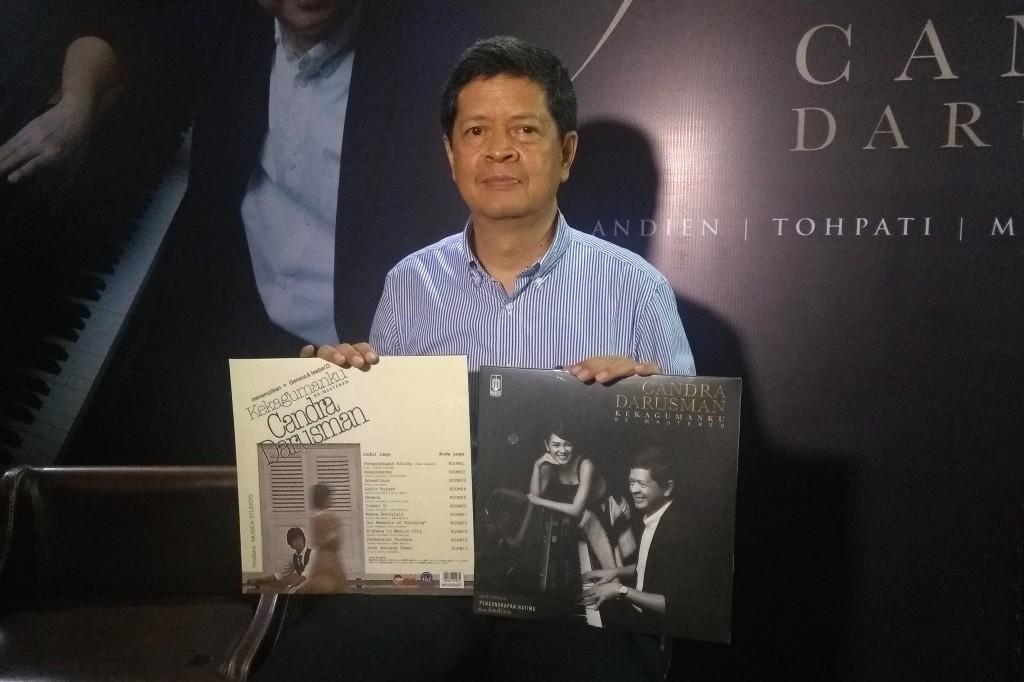 Candra Darusman Rilis Album Kekagumanku Versi Remastered