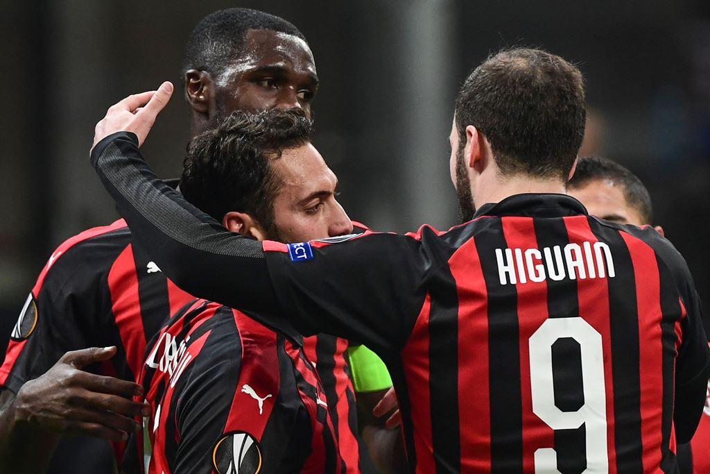 Kalahkan Dudelange, AC Milan Buka Peluang ke 32 Besar