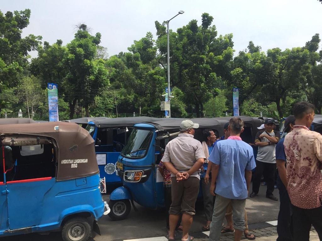 5 Ribu Sopir Bajaj Ancam Berdemo di Balai Kota