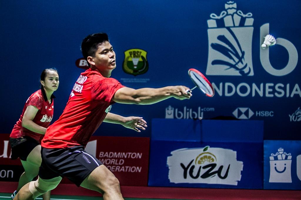 Praveen/Melati Susah Payah Tembus Semifinal
