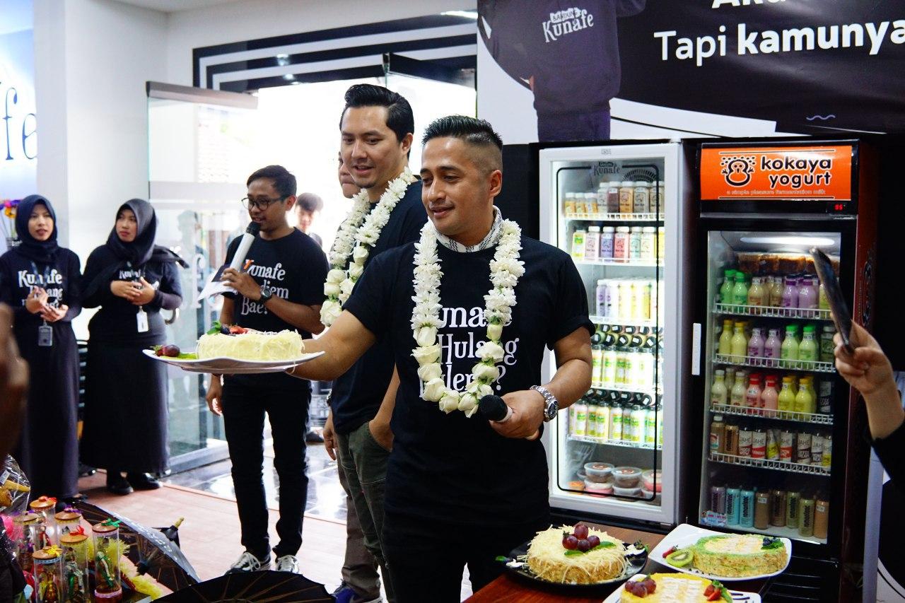 Omesh dan Irfan Hakim Bersyukur Bisnis Kulinernya Berkembang
