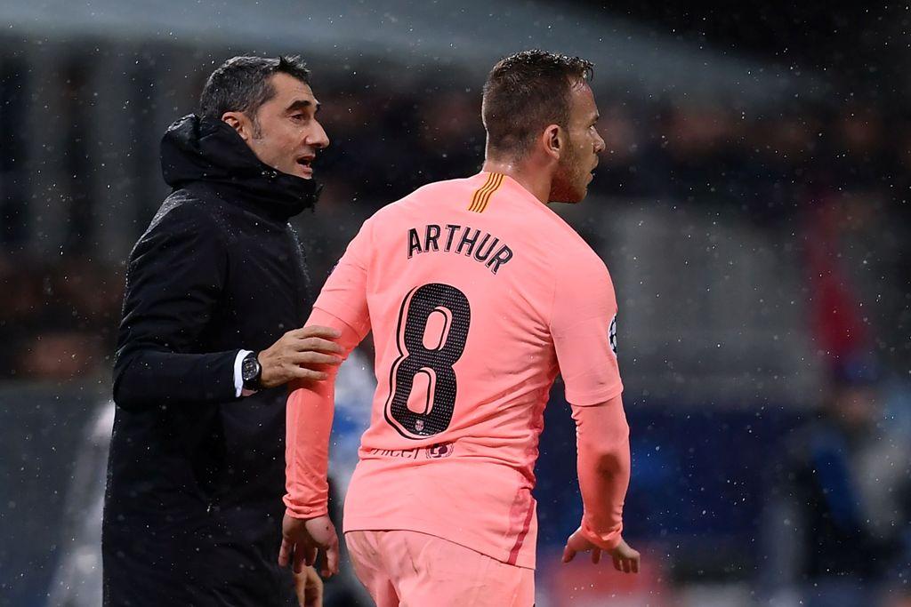 Arthur Absen Bela Barcelona Kontra Villareal