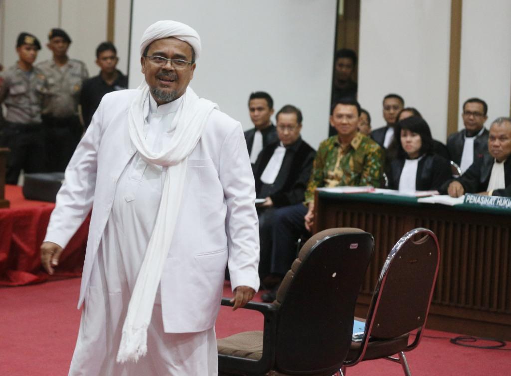 Rizieq Mengharamkan Memilih Capres-Cawapres dari Partai Penista Agama