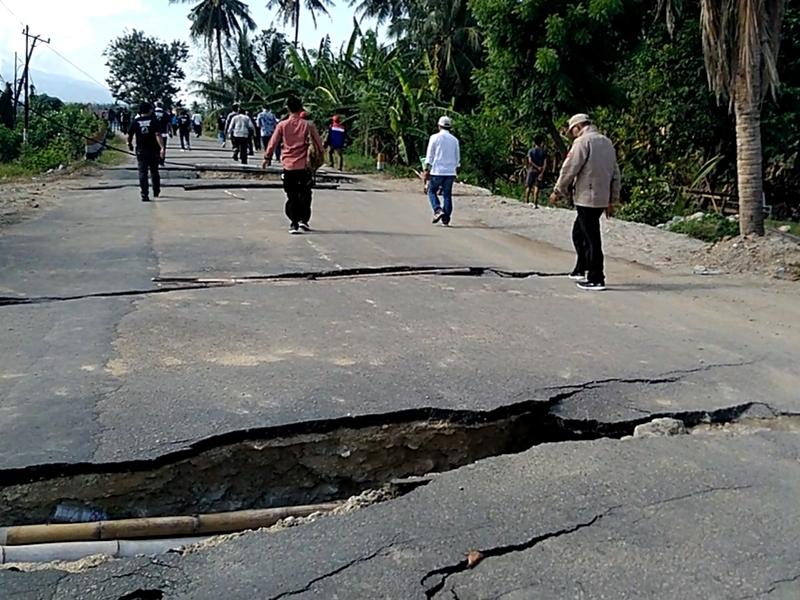 Jalan Jono Oge-Sidera di Sigi Sudah Bisa Dilewati