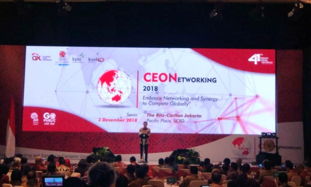 Bos Bursa Pamer Pertumbuhan Investor Milenial di Depan Jokowi