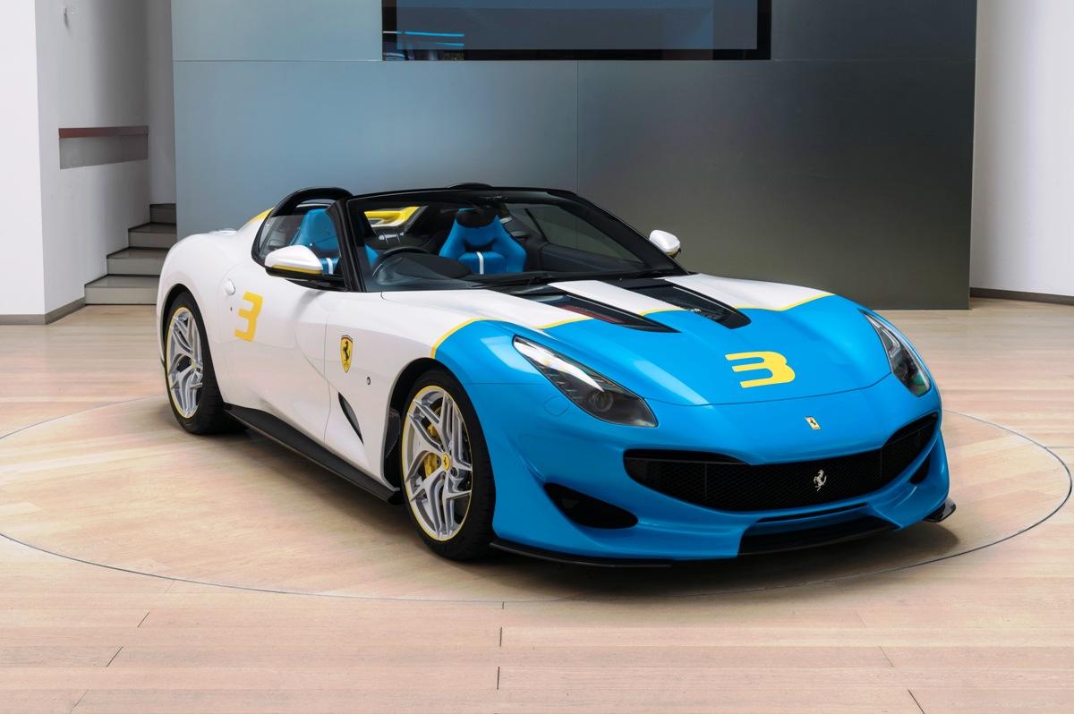 Ferrari SP3JC, Hanya Satu Unit di Dunia