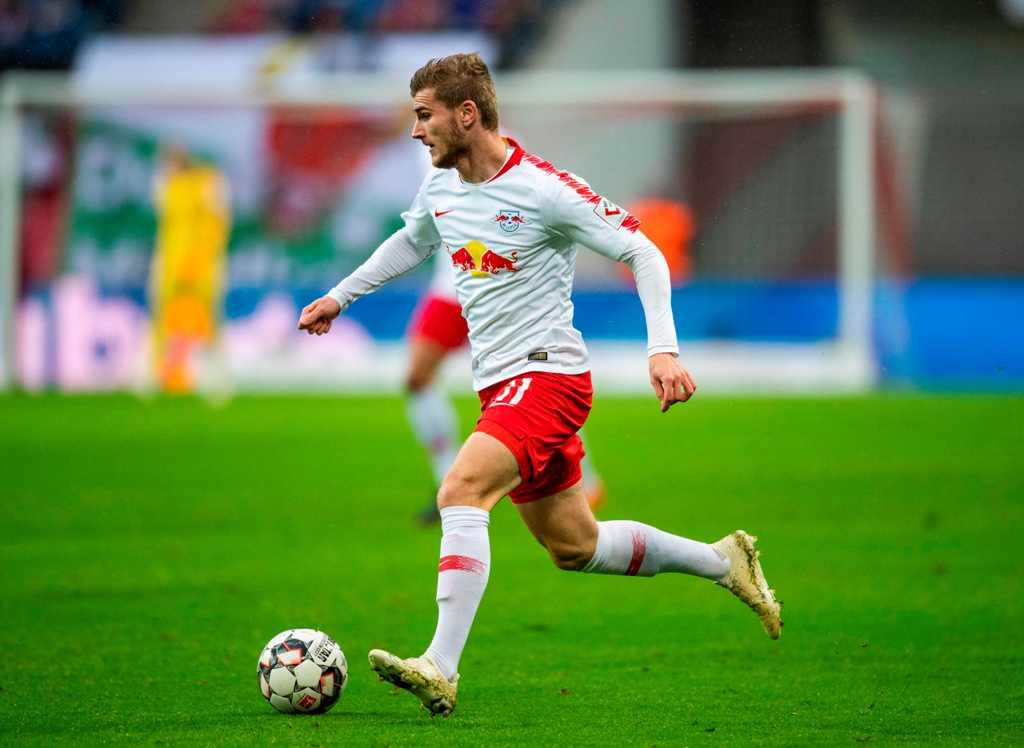 Werner Bawa Leipzig Salip Muenchen di Bundesliga