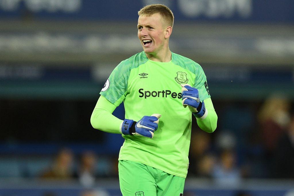 Jordan Pickford Minta Maaf kepada Pendukung Everton