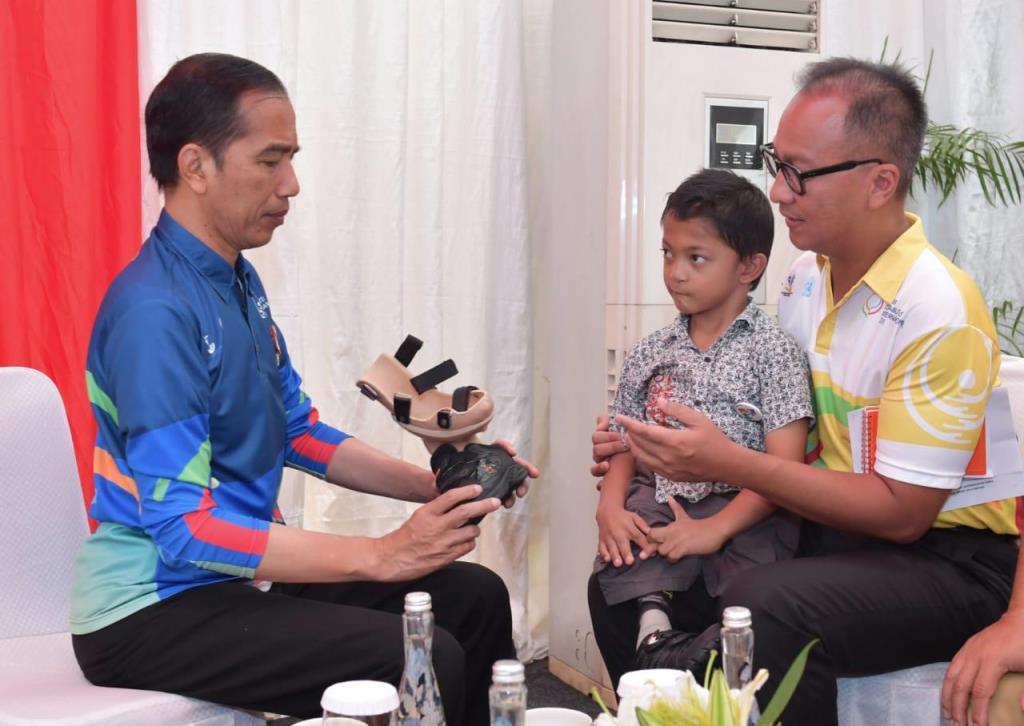 Jokowi Terpukau Prestasi Penyandang Disabilitas