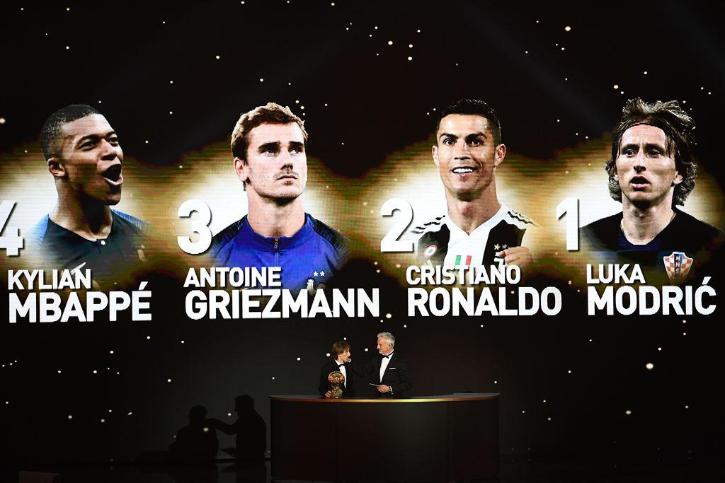Saat Modric Terima Penghargaan Ballon d'Or, Di mana Messi dan Ronaldo?