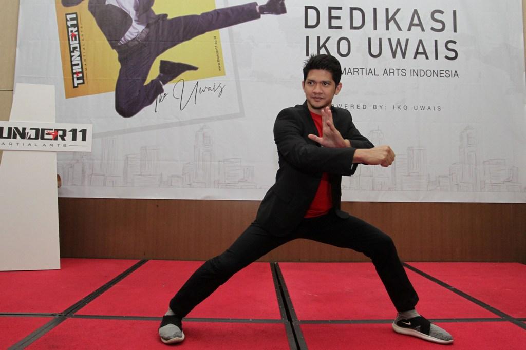 Iko Uwais Ingin Tenarkan Olahraga Bela Diri MMA di Indonesia