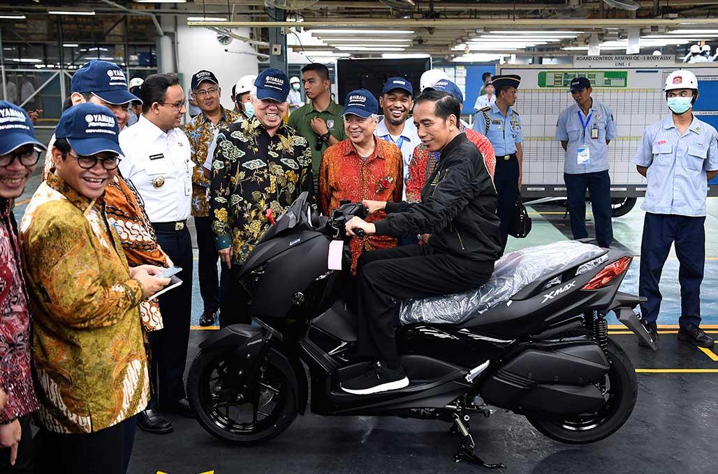 Menperin Target Ekspor Sepeda Motor Capai 600 Ribu Tahun Ini