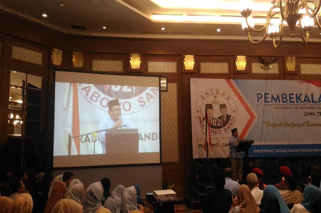 Partai Pendukung Prabowo-Sandi akan Berkantor di Jateng