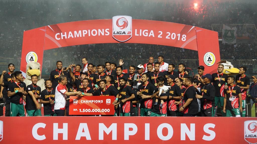 Daftar Pemenang Liga 2 Indonesia 2018
