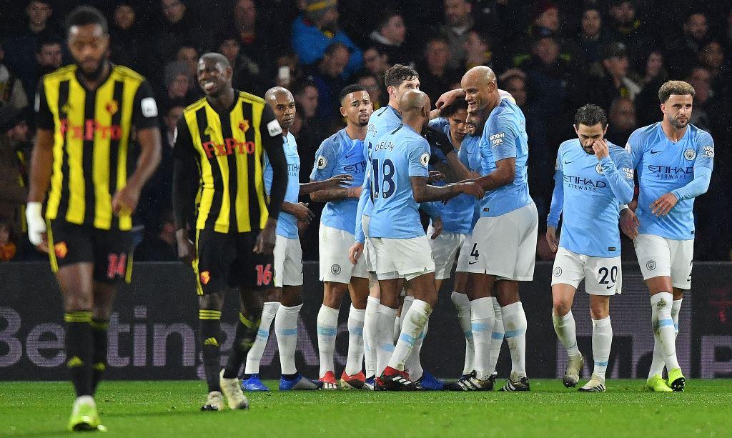 Bungkam Watford, Manchester City Kian Nyaman di Puncak