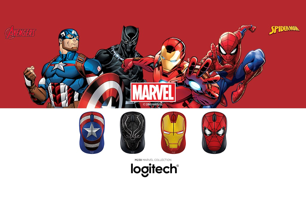 Logitech M238 Punya Edisi Marvel