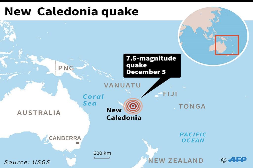 Gempa Guncang Kaledonia Baru, Picu Peringatan Tsunami