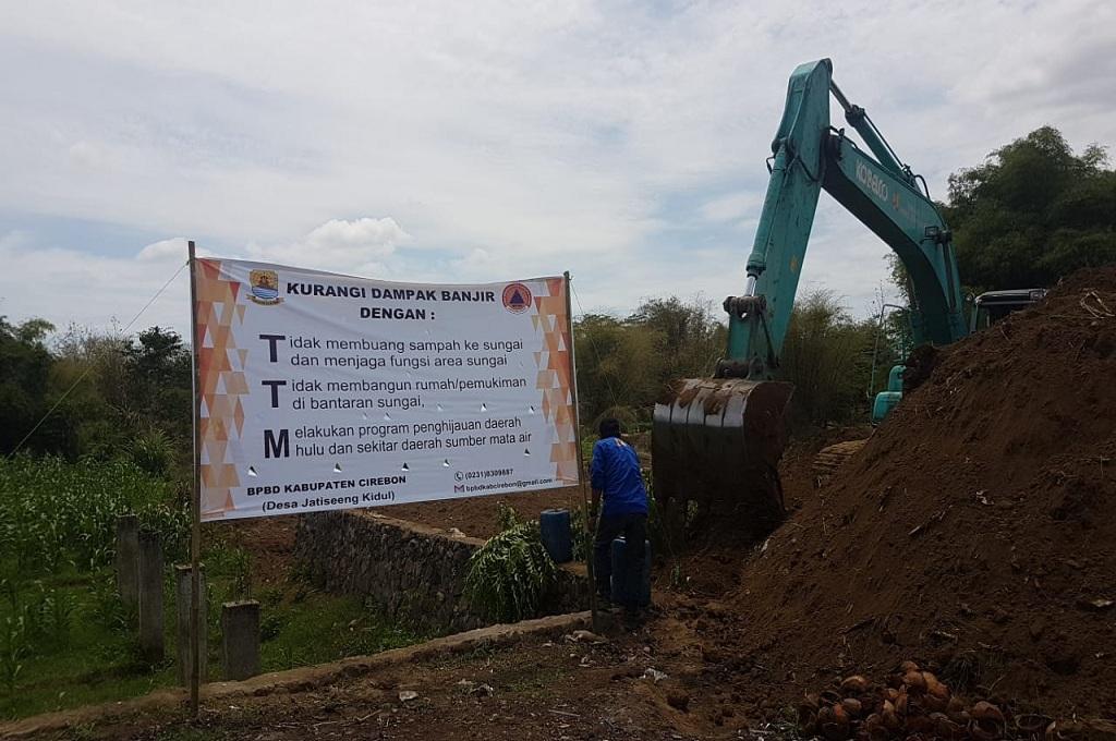 Katup Sungai Cisanggarung Cirebon Diperbaiki