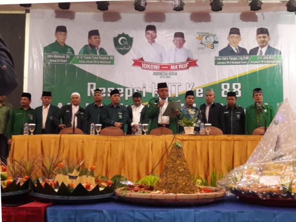 Al Washliyah Sumut Siap Menangkan Jokowi-Maruf