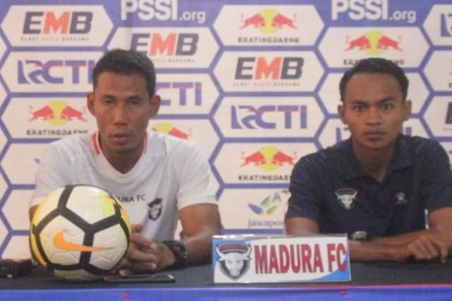Beda Kasta, Madura FC Tak Gentar Hadapi Madura United
