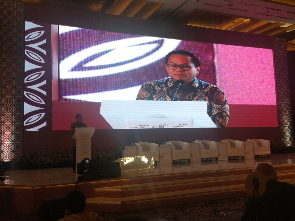 Bos Mandiri Yakin Ekonomi Indonesia Terus Membaik