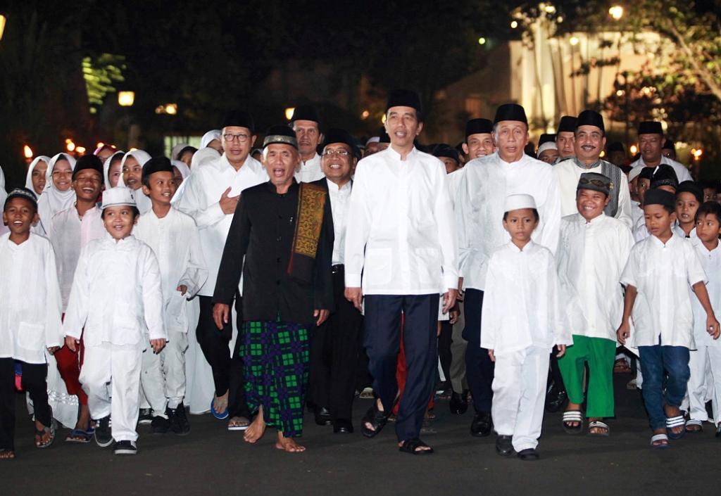 Jokowi Dianggap Berjasa Kepada Warga Riau