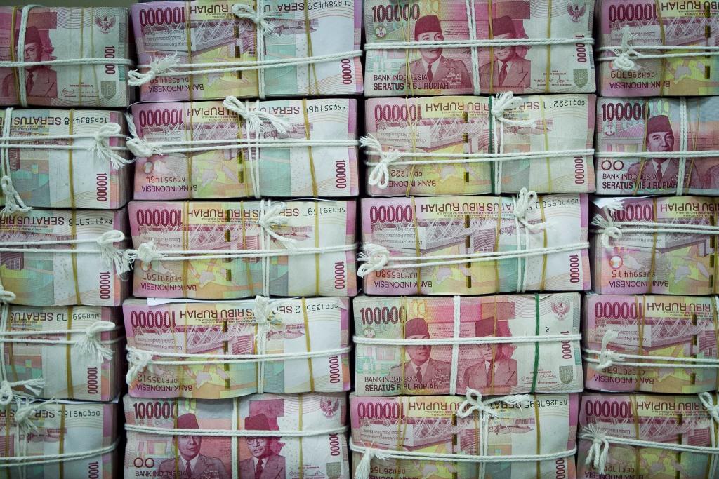 Rupiah Sentuh Rp14.524/USD