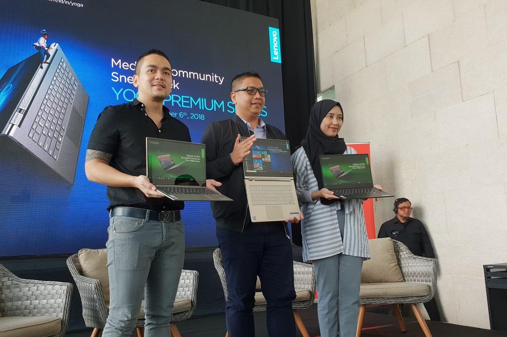 Dua Laptop Anyar Lenovo untuk Ekonomi Kreatif