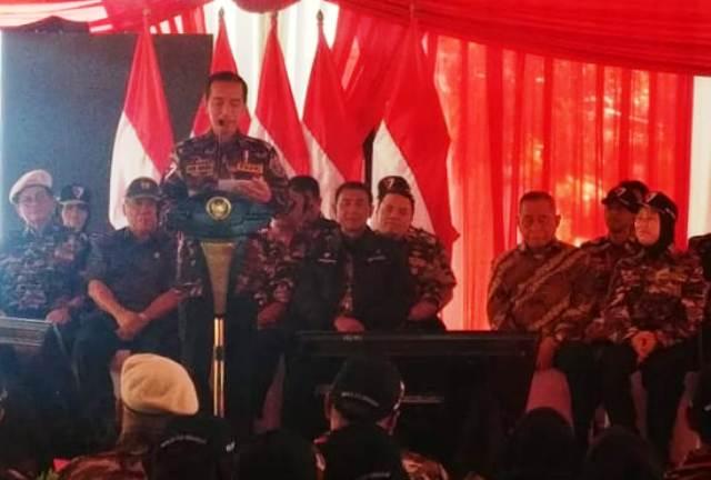 Jokowi Minta FKPPI Jaga Pancasila