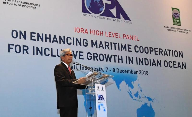 IORA Upayakan Potensi Kerja Sama Ekonomi dalam Maritim