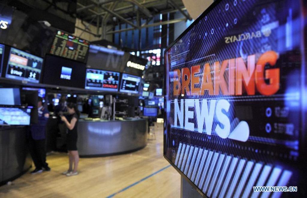 Akhiri Minggu 'Liar', Dow Jones Anjlok 558 Poin