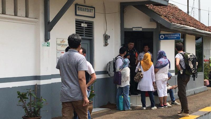 Kereta Anjlok di Bandung Barat, Perjalanan Bandung-Jakarta Terganggu