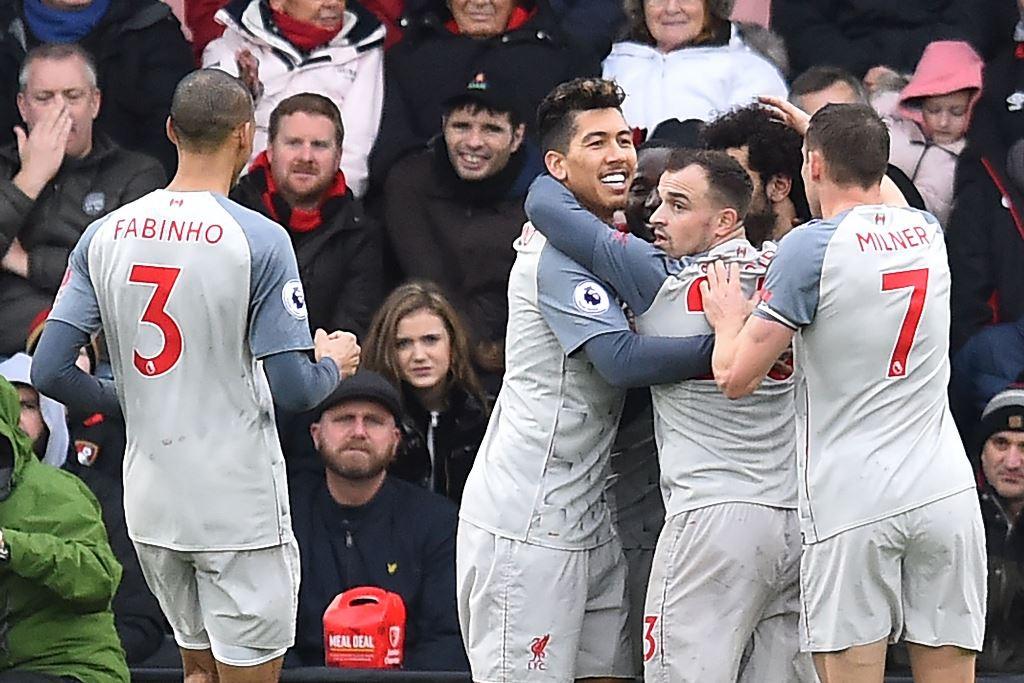 <i>Hattrick</i> Salah Bawa Liverpool Petik Kemenangan di Markas Bournemouth