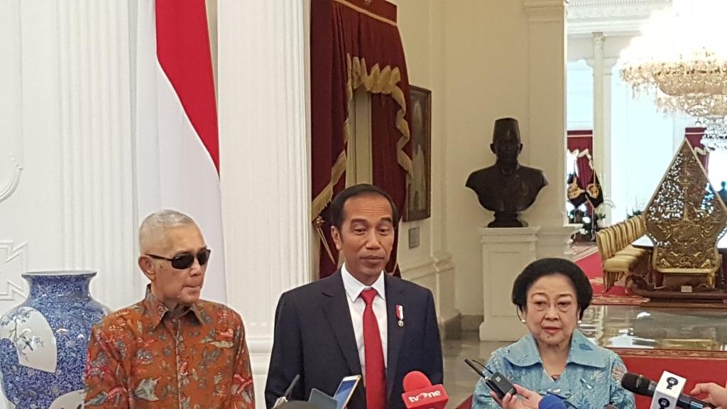 Para Ketum Parpol Koalisi Ucapkan Selamat ke Jokowi